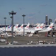 駐機している機体が多かったです