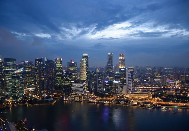 シンガポールの夜景を楽しむ観光スポット