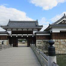 広島城 表御門