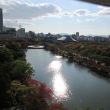 広島城 内堀