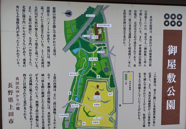 御屋敷公園 (真田氏館跡)