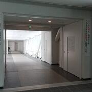 苗穂駅への連絡通路