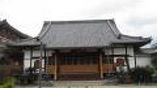風・光・空の3体の地蔵が祀られるお寺さんです。