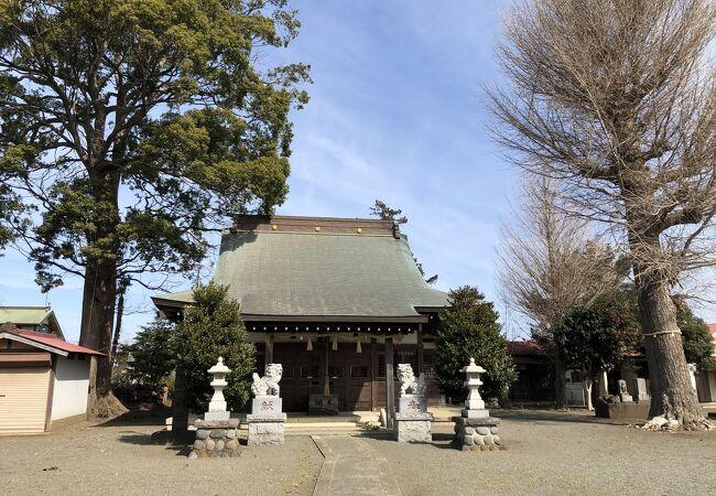 近隣の3つの神社を合祀