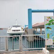 石垣島から八重山の6島への定期便の運航と観光ツアーを催行している会社