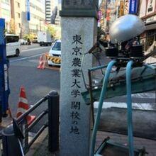 東京農業大学開校の地