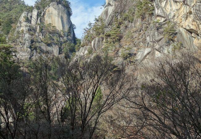 昇仙峡の見どころの一つ