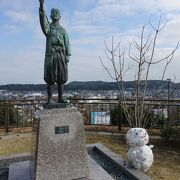 天草四郎と雪だるま