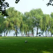 中国人にも人気がある風光明媚な西湖