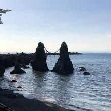 夫婦岩(高知県香南市)