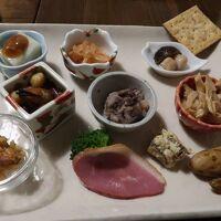 夕食(前菜11品)
