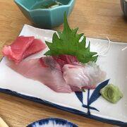 大満足の魚介食べつくし