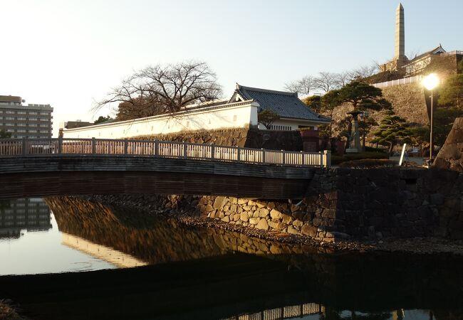 甲府城 遊亀橋
