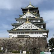 大阪有数の観光地