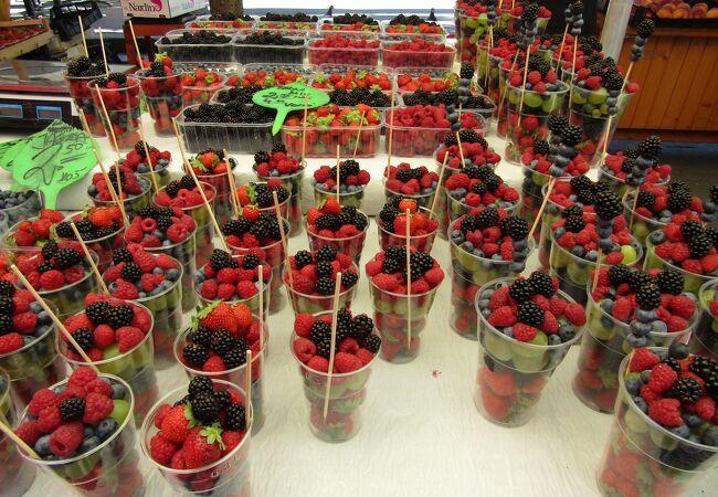 青果物市場