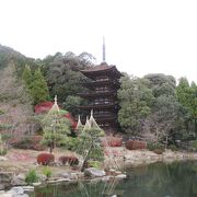 元々は香積寺の五重塔として建造されました。