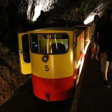 トロッコ列車 (ポストイナ鍾乳洞)