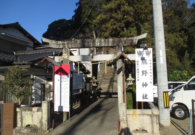 大内氏が勧請した神社です。
