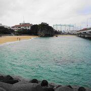 那覇市唯一の海水浴場