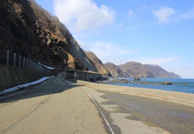 黄金道路(北海道広尾町)
