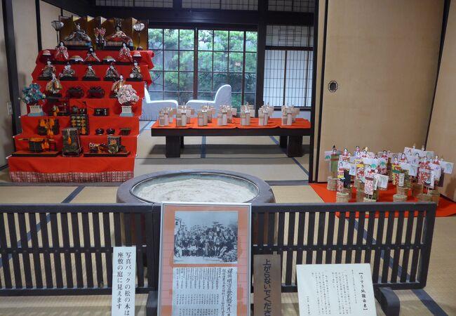 九十九歳で逝去されるまで文学ひと筋の生涯を過ごされた文学記念館を見学しました!!