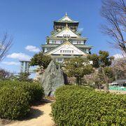 天守閣から大阪市街を一望でき、展示物も充実