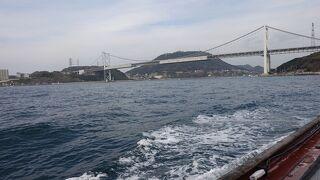 船で徒歩で行ったり来たりが楽しい