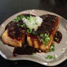 ランチ(豆腐ステーキ)