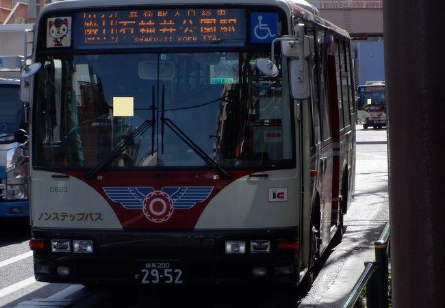 都内西部を縦断するのに便利なバスでした。