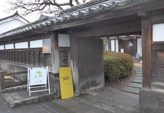 旧臼杵藩主稲葉家下屋敷の一角にあるお店です!!