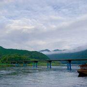 四万十の街中から1番行きやすい場所にある沈下橋です。