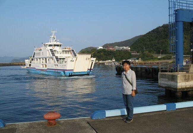 加計呂麻島まで20分の航海