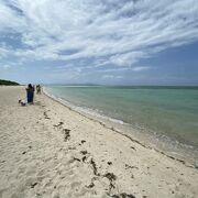 海岸線の長い美しいビーチ!