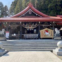 金蛇水神社の社殿