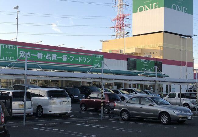 地元の人が利用するスーパー