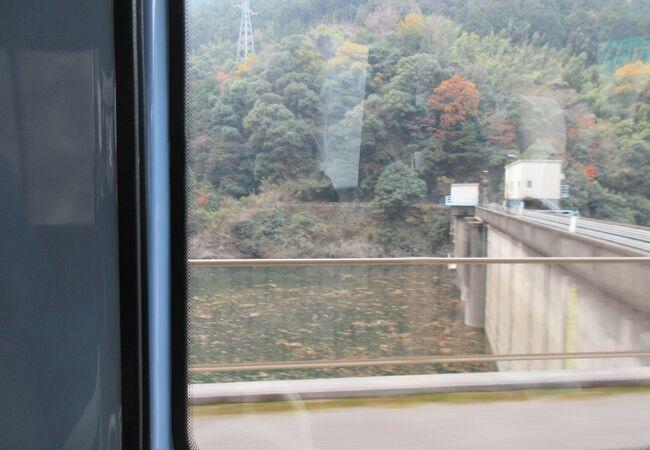 別子の湖(鹿森ダム湖)