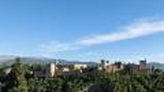 グラナダのアルハンブラ、ヘネラリーフェ、アルバイシン地区