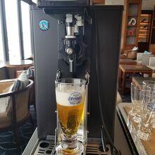 クラブラウンジのオリオンビールは7時から20時まで飲み放題