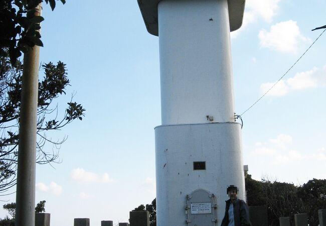 島の最北端にある灯台