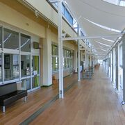宿泊もできる、小学校をリノベーションした道の駅