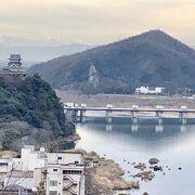 犬山城付近の木曽川