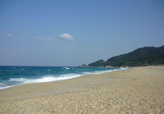 永田浜(いなか浜・前浜・四ツ瀬浜)