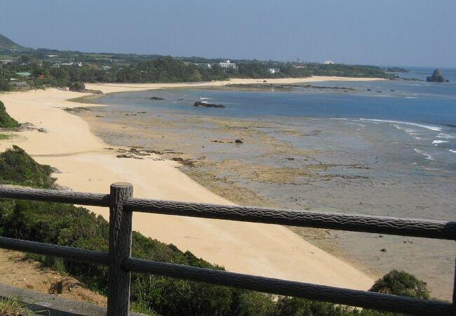 土浜海岸やリーフなど奄美らしい景色