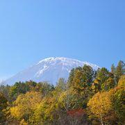 蝦夷富士とも呼ばれる羊蹄山