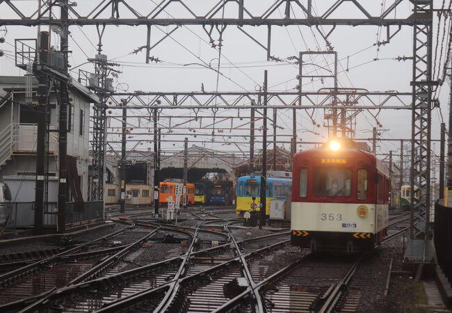 阪堺電気軌道 我孫子車庫