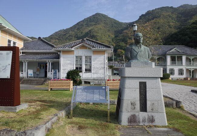 富岡敬明翁頌徳碑
