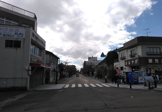 犬山観光のメインストリート