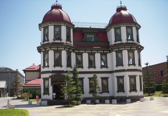 棟梁堀江佐吉の創意と工夫が随所に施された、弘前市の明治期を代表する洋風建築