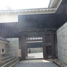 松山城 筋鉄門