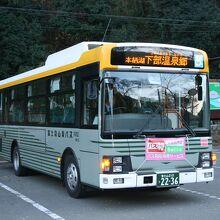 路線バス (富士急山梨バス)